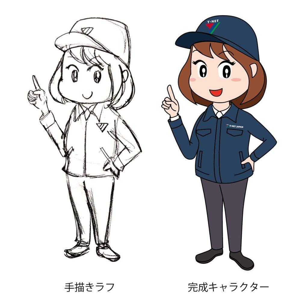 ティーネットジャパン キャラクター